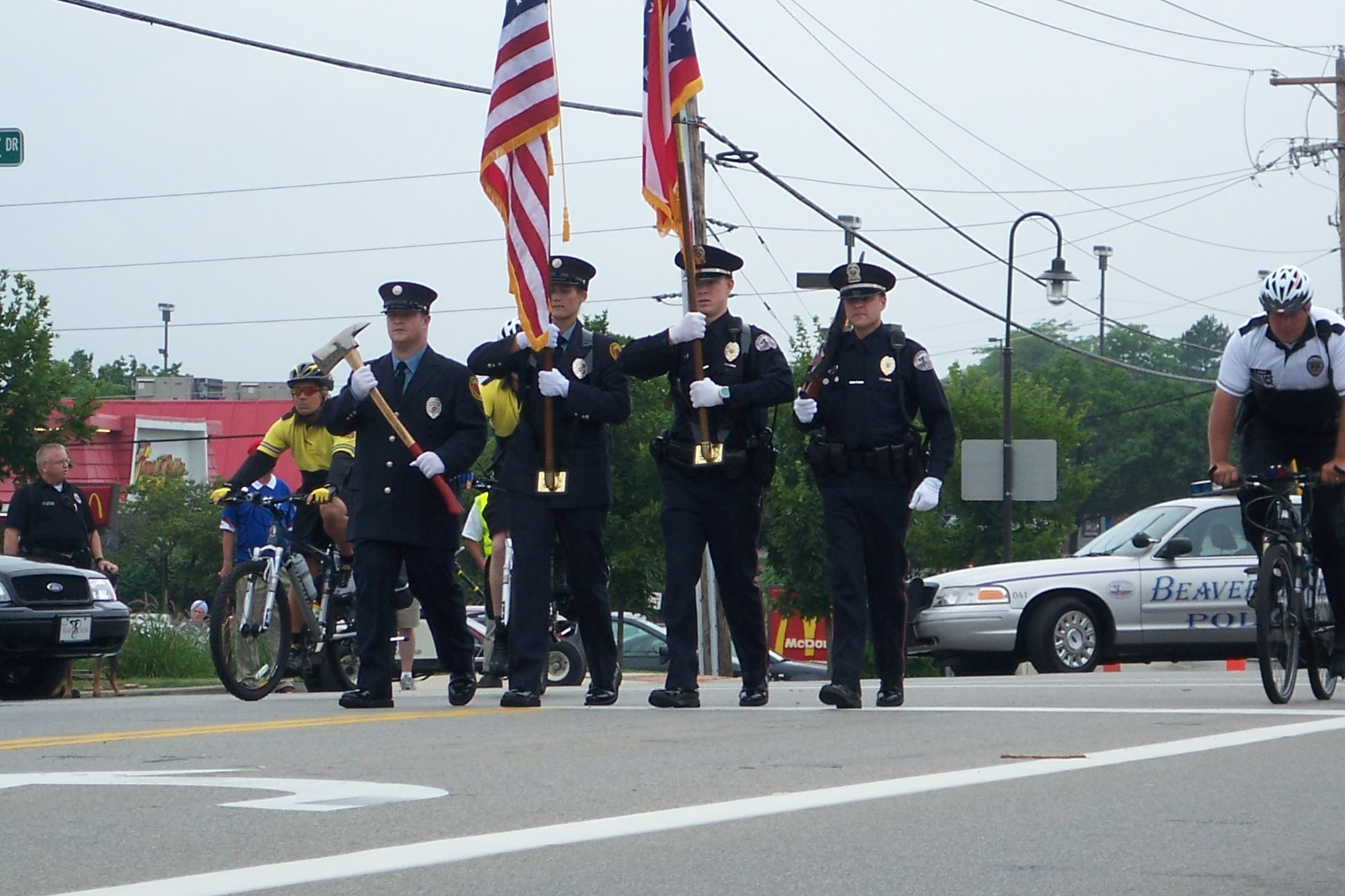 July 4 color guard